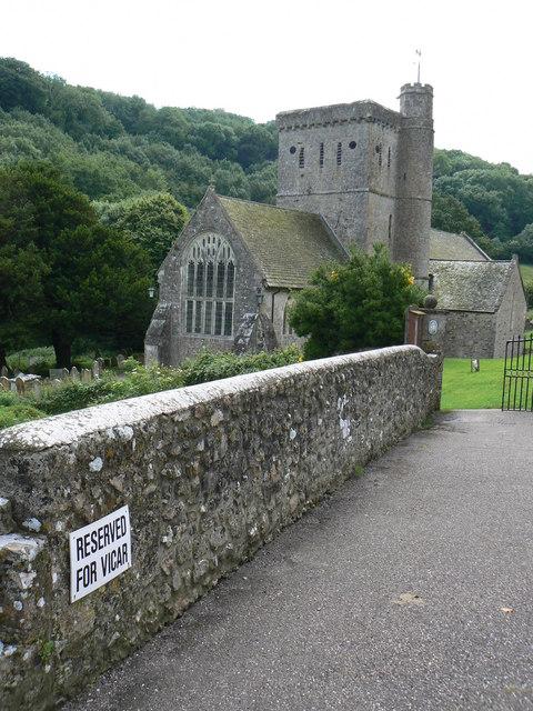 Branscombe church