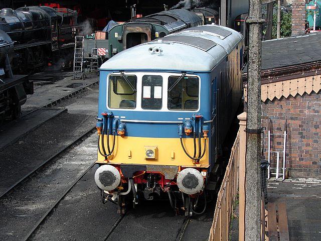 Electro-diesel locomotive at Bridgnorth