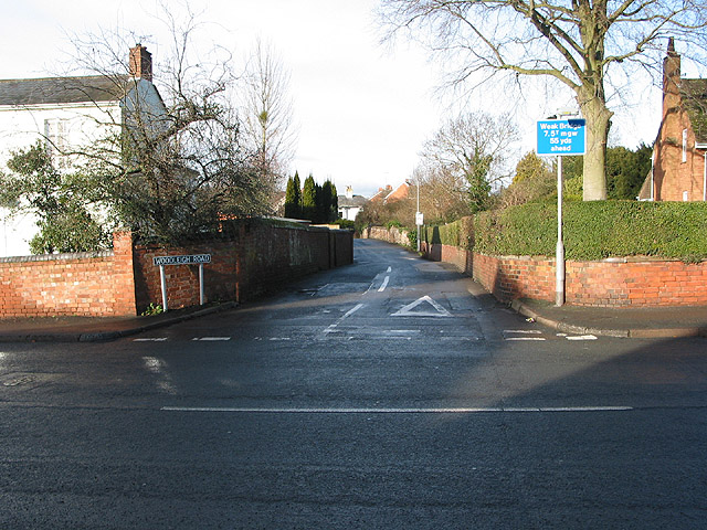 Junction of Woodleigh Road and New Street