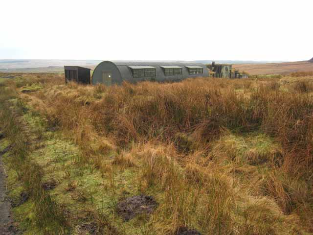 Nissen hut on the Otterburn ranges