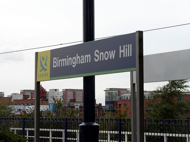 Birmingham Snow Hill Station