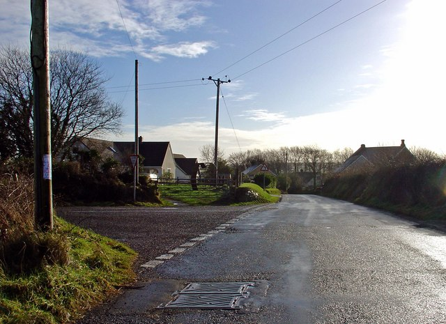 New houses at Cefn-y-pant
