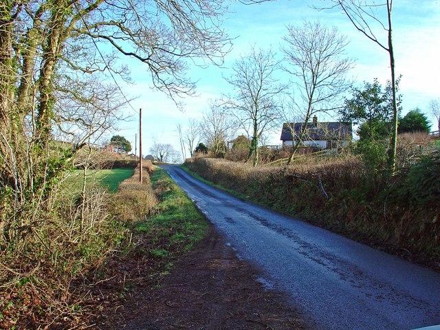 House near Cwmfelin-boeth