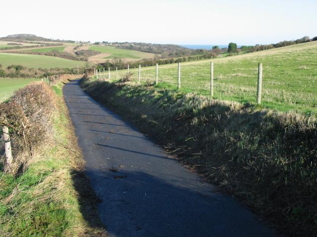 Footpath to Kingsdown
