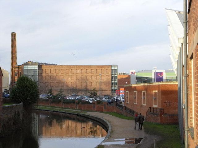 Weavers Wharf and slingfield Mills