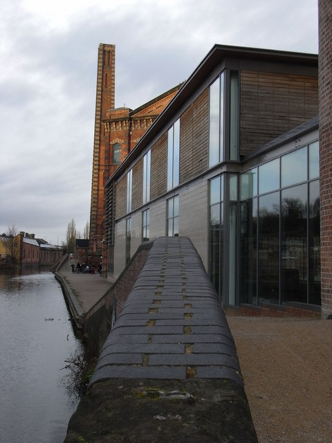 Weaver's wharf and Slingfield Mills