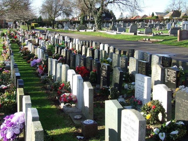 Bury St. Edmunds cemetery