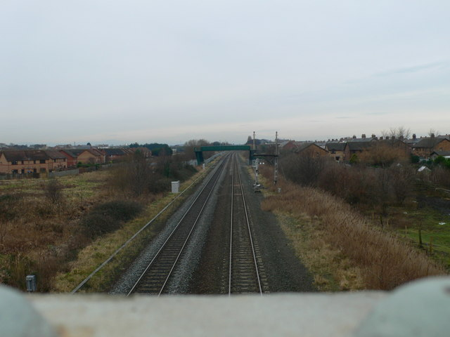 Chester to Holyhead railway line