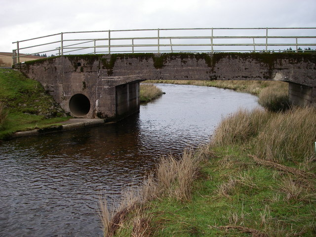 A view under Pont ar Wysg