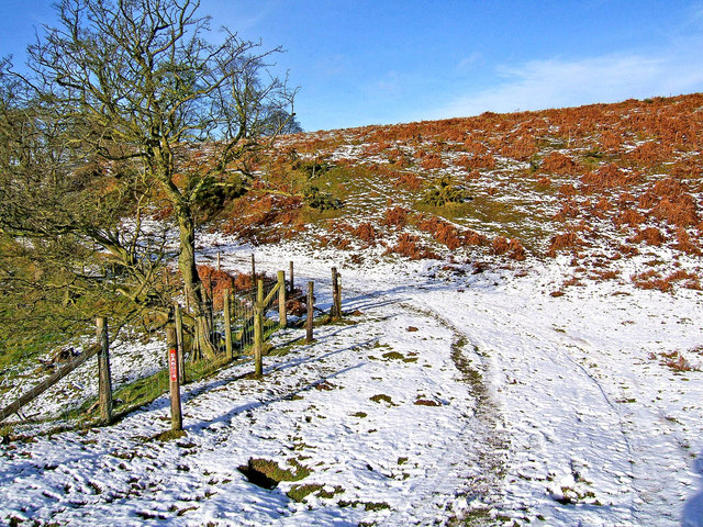 Snow and sunshine on the Jack Mytton Way