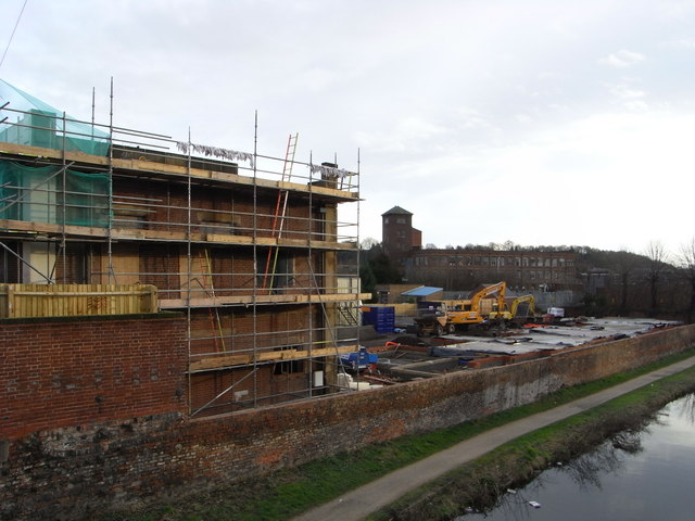 Kidderminster baths are being redeveloped