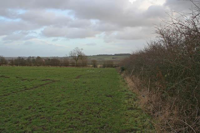Public footpath to Eaton