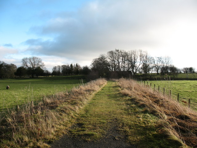 Old rail track near Cotherstone