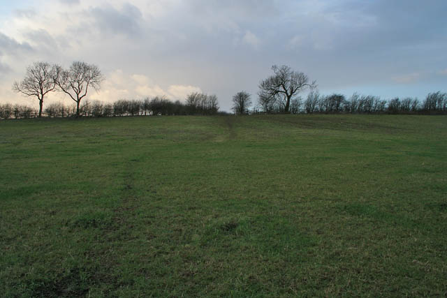 Public footpath between Eastwell and Eaton