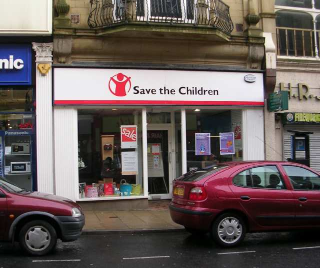 Save the Children Shop - Darley Street