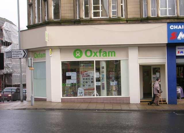 Oxfam Shop - Darley Street