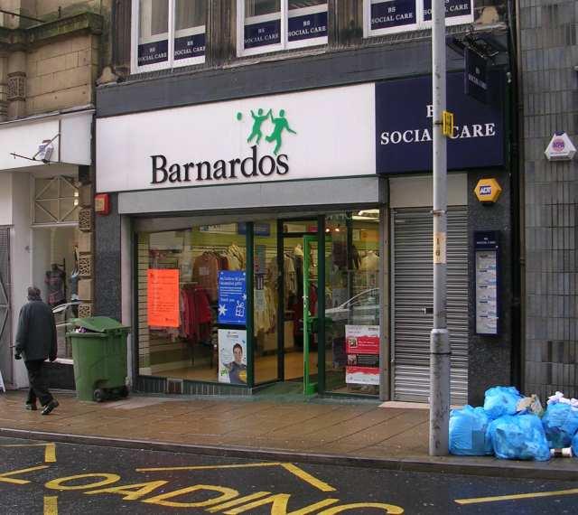 Barnardo's Shop - Darley Street