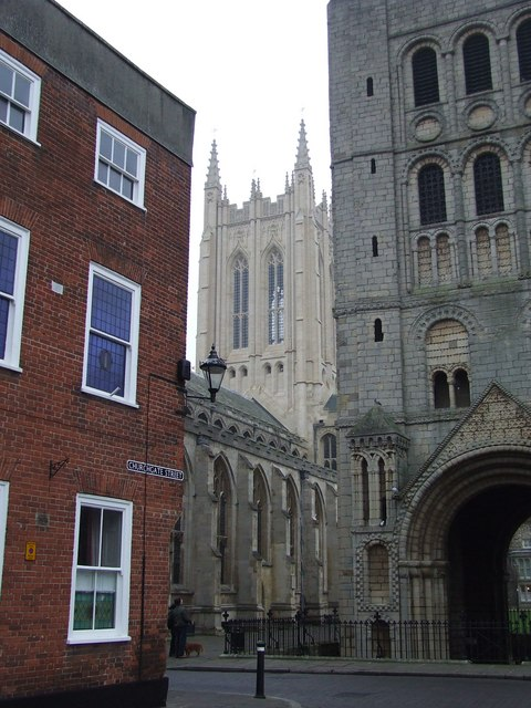 The tower of St.Edmundsbury cathedral