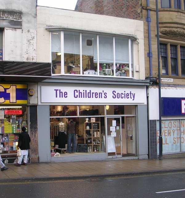 The Children's Society Shop - Westgate