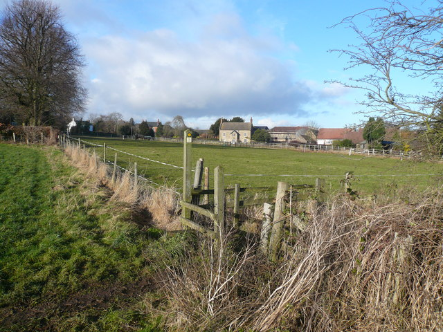 Scarcliffe - Viewed from footpath