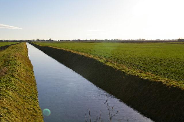 Drain near West Head