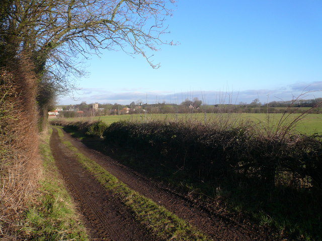 Gang Lane - View towards Scarcliffe