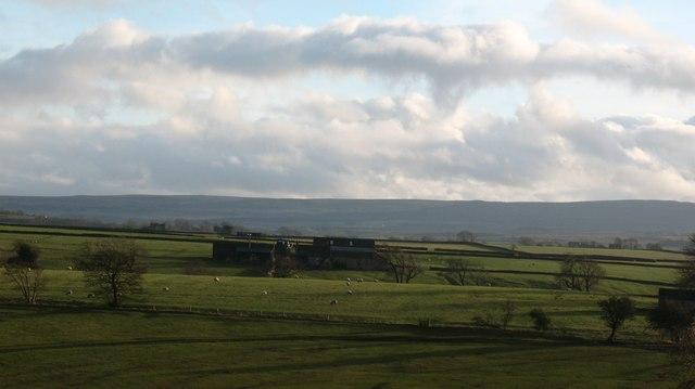Nabb Farm from Crag Hill