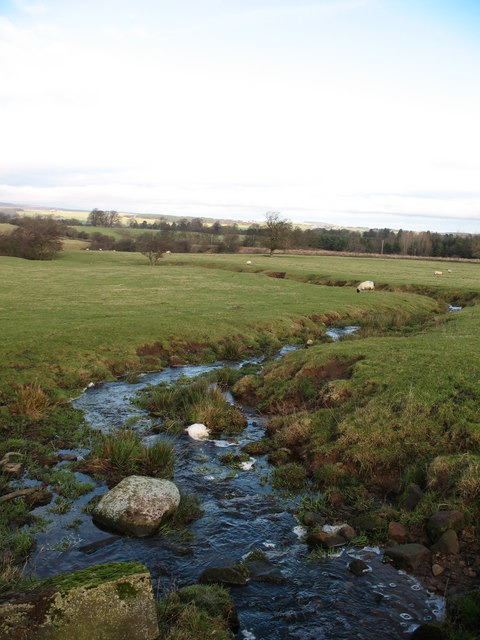 Unnamed beck near Cat Castle