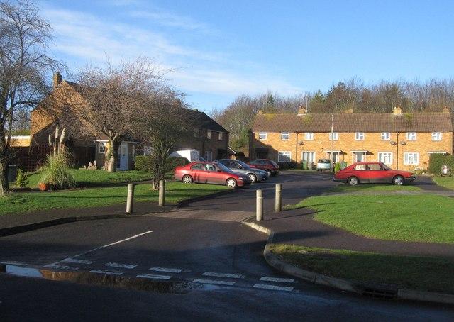 Small close off Stratfield Road