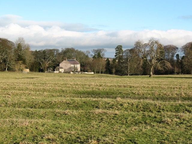 Ridge and furrow at Lartington