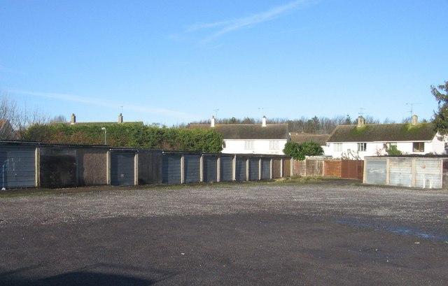Abandoned garages