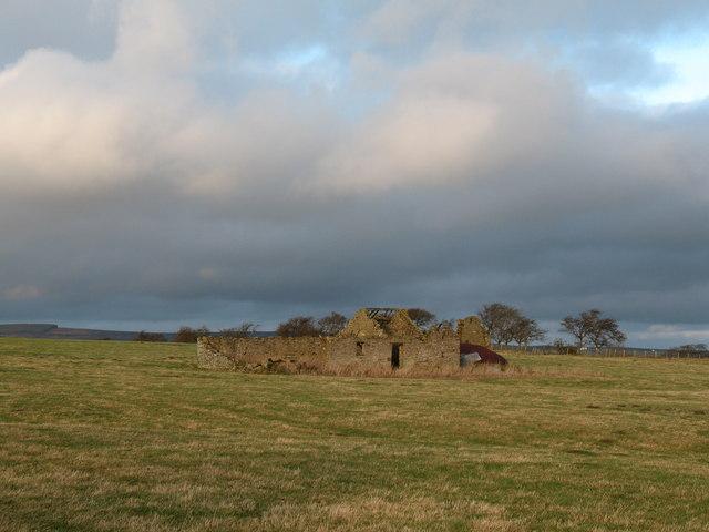 Ruined barn, Lartington Green