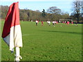 TQ0748 : Shere Football Ground by Colin Smith