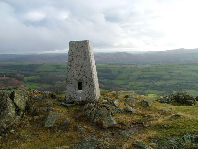 Trig point on Great Stickle