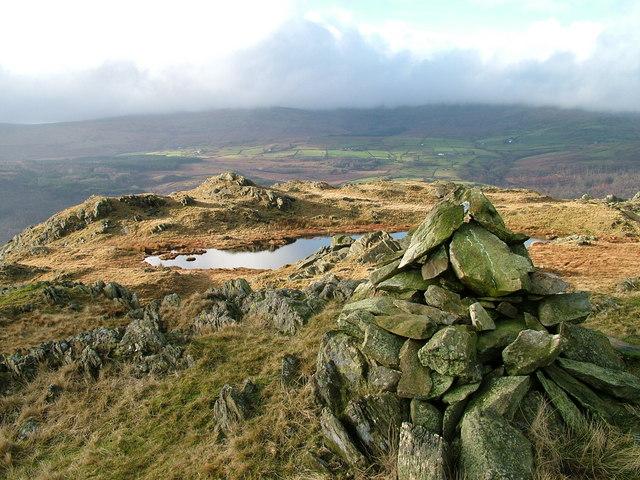 Cairn on Tarn Hill