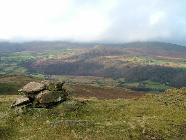 The other cairn on Stickle Pike