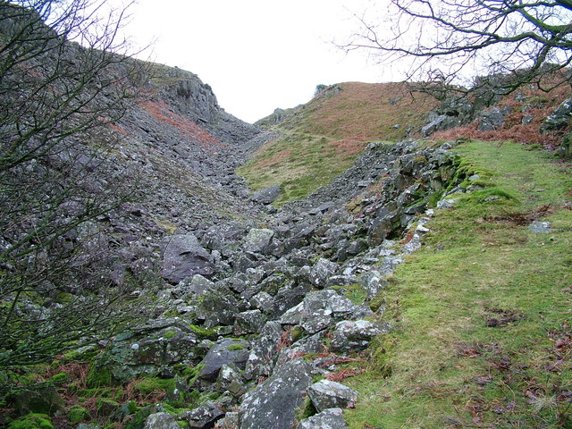 The old path above Stonestar