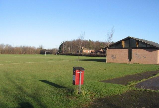 Sherborne playing fields & pavilion