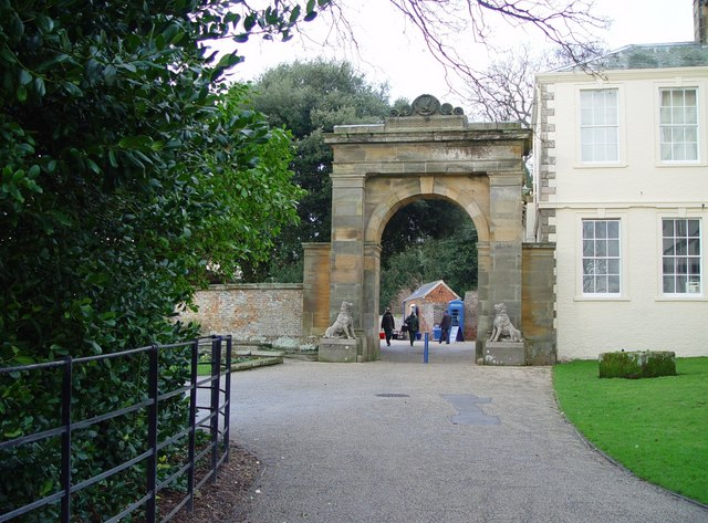 Archway to the Courtyard