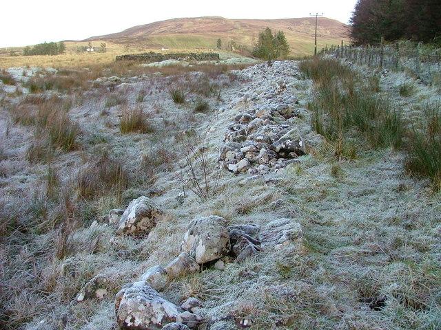 Old Boundary Dyke at Peinsoraig
