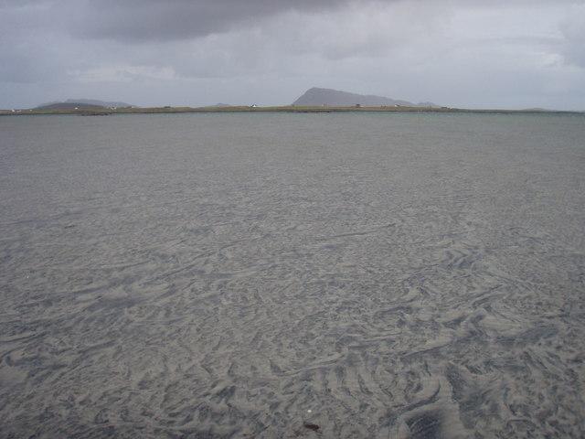 Sandy flats off Bail Sear
