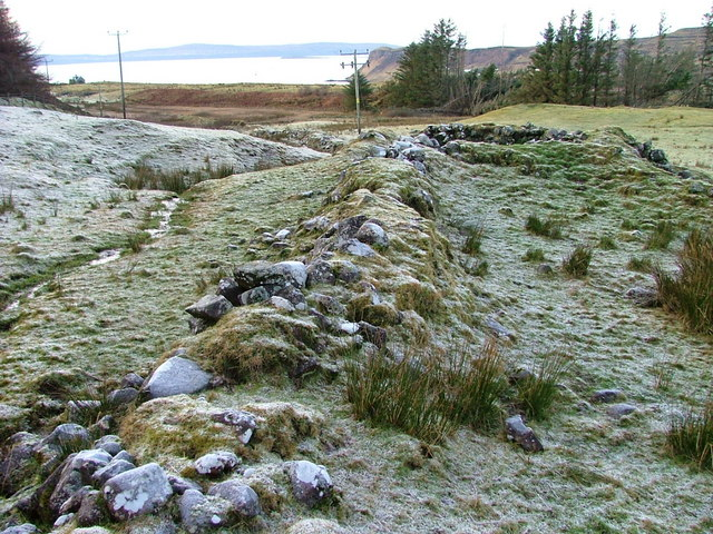 Old Boundary Dyke in Sheader