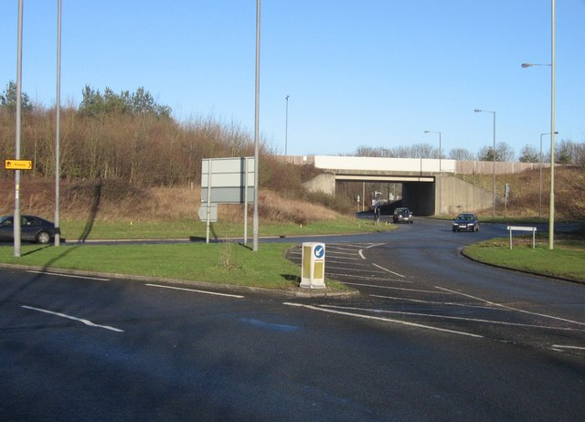 Aldermaston roundabout