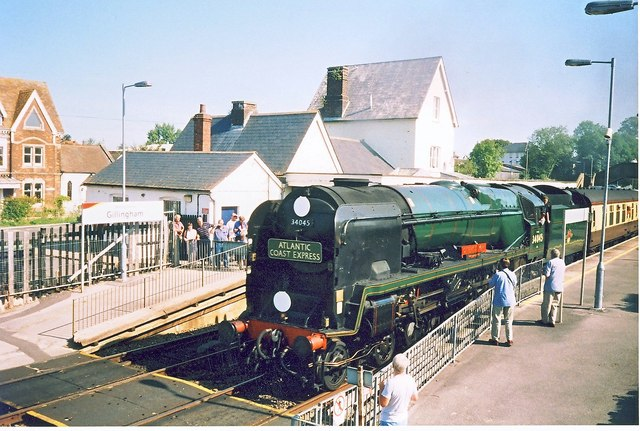 Bulleid Pacific No.34045 Ottery St.Mary.