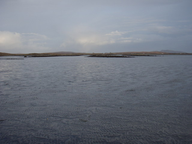 Looking towards Eilean nan Carnan