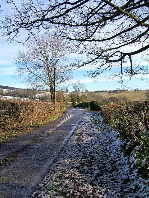 Unclassified road to Blackford