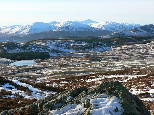 View towards Glen Lednock