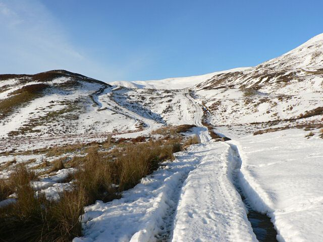 Tracks north of Braefordie
