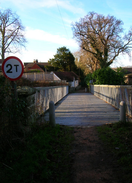 Back Lane Bridge, Groombridge