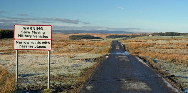 MOD Range Road